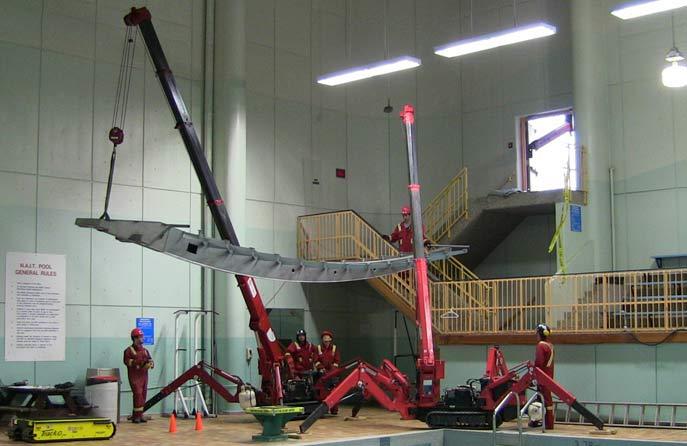 Mini Crane / Spyder Crane Rentals
